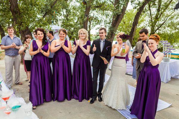 Европейская свадьба в классическом стиле.