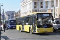 Муниципальный транспорт во Владивостоке.