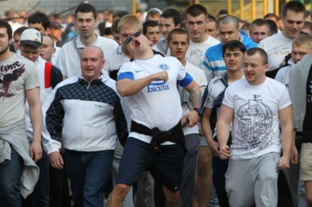 Днепропетровские болельщики