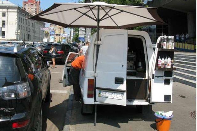 Автокофейни в Киеве уберут
