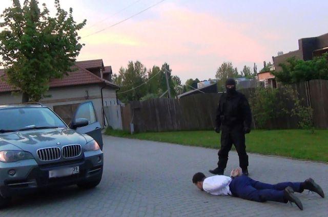 Задержание чиновника.