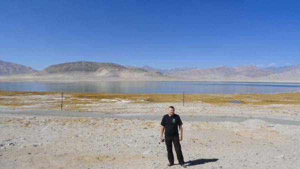 Соленые озера Сарыкола