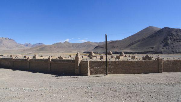 Могила Кара-Гул. Древние киргизские захоронения