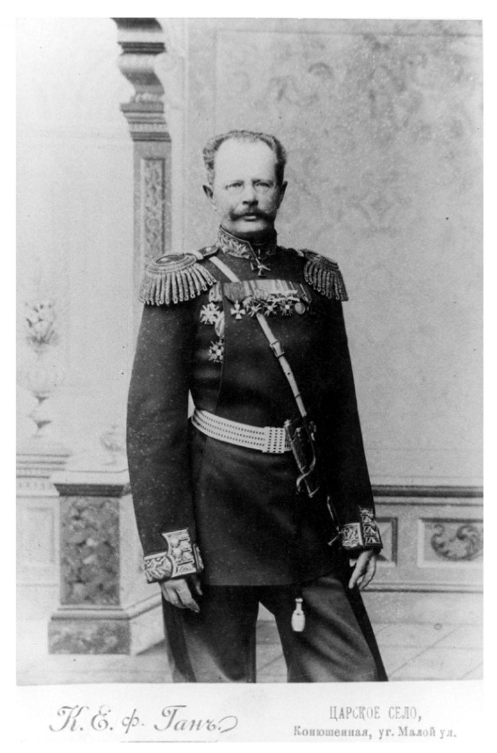 Командующий Памирскими походами генерал М.Е.Ионов. Фото из семейного архива Н.Кареевой