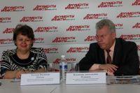 Татьяна Плетан и Владимир Родионов