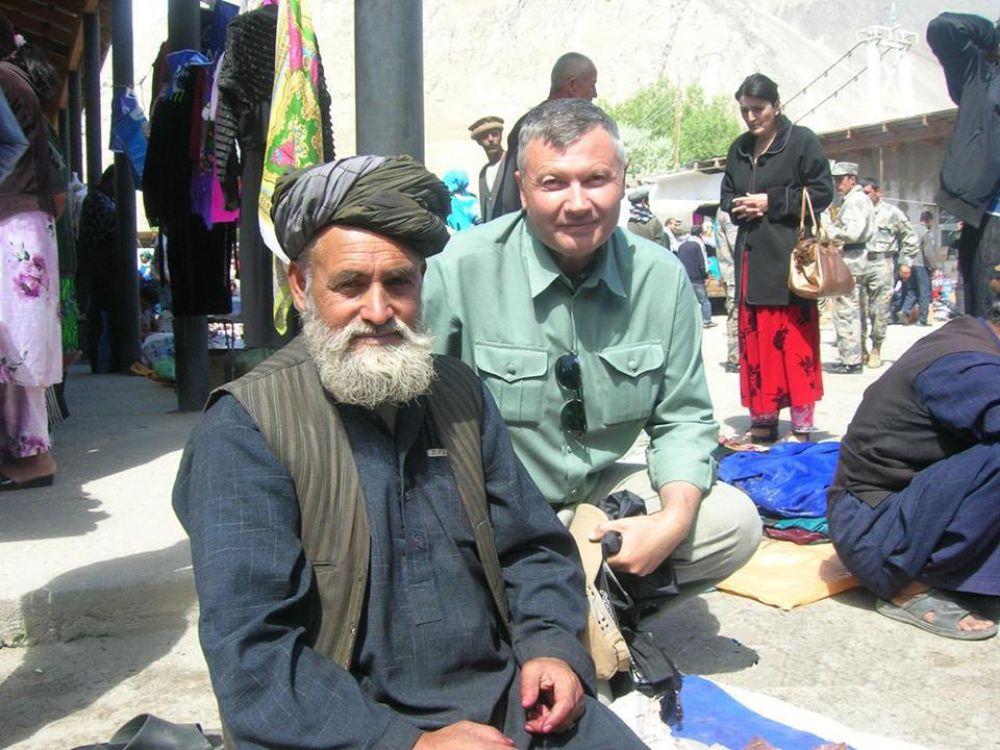 Встреча с афганцем на местном базаре