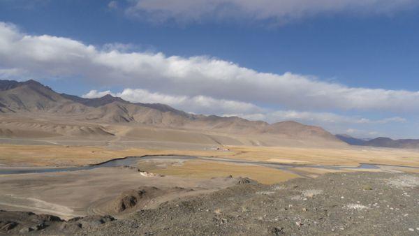 Долина реки Мургаб