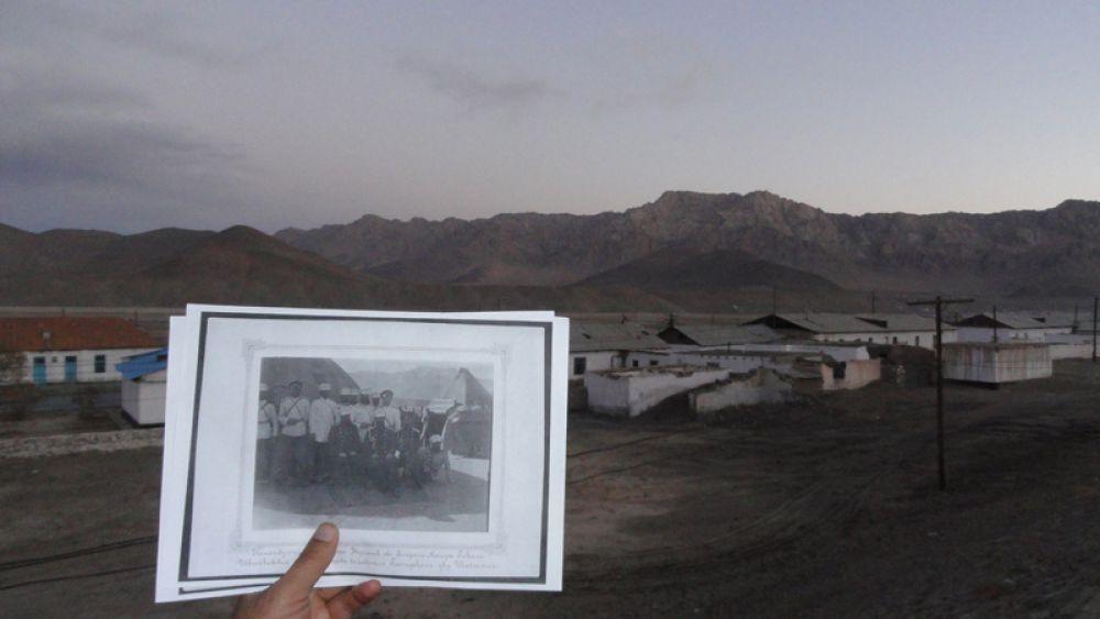 Фото Шаджанского поста и современное место стоянки