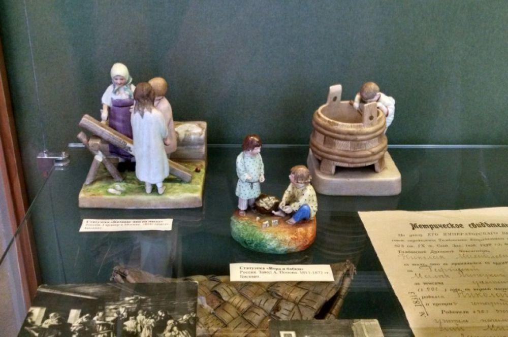 Игрушки детей дворян 19-го века.