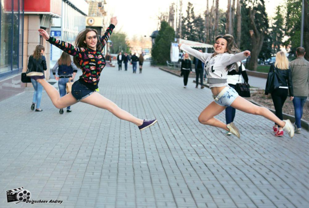 Анастасия Игнатова и Анастасия Любящева.