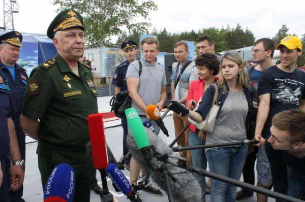 Первый заместитель министра обороны РФ Аркадий Бахин