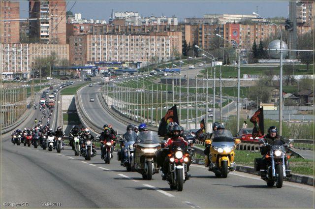 Под Новосибирском прошло байк-шоу от мотоклуба 99 percent