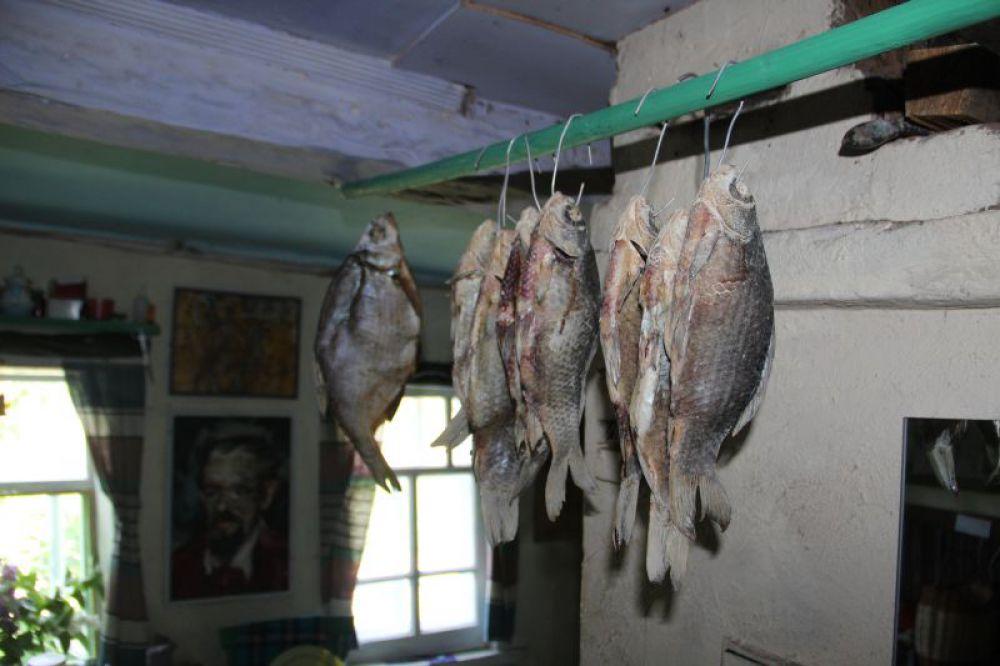 Рыбка из Красной речки - подарок от рыбаков