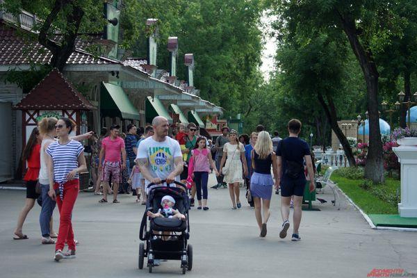 Основные события фестиваля пройдут в парке Горького.