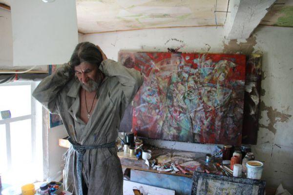 В правом нижнем углу картины автор изобразил самого себя