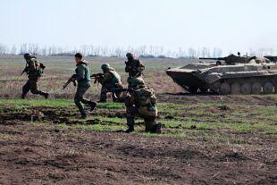 ДНР заявили, что украинские силовики обстреляли поселок Гольмовский