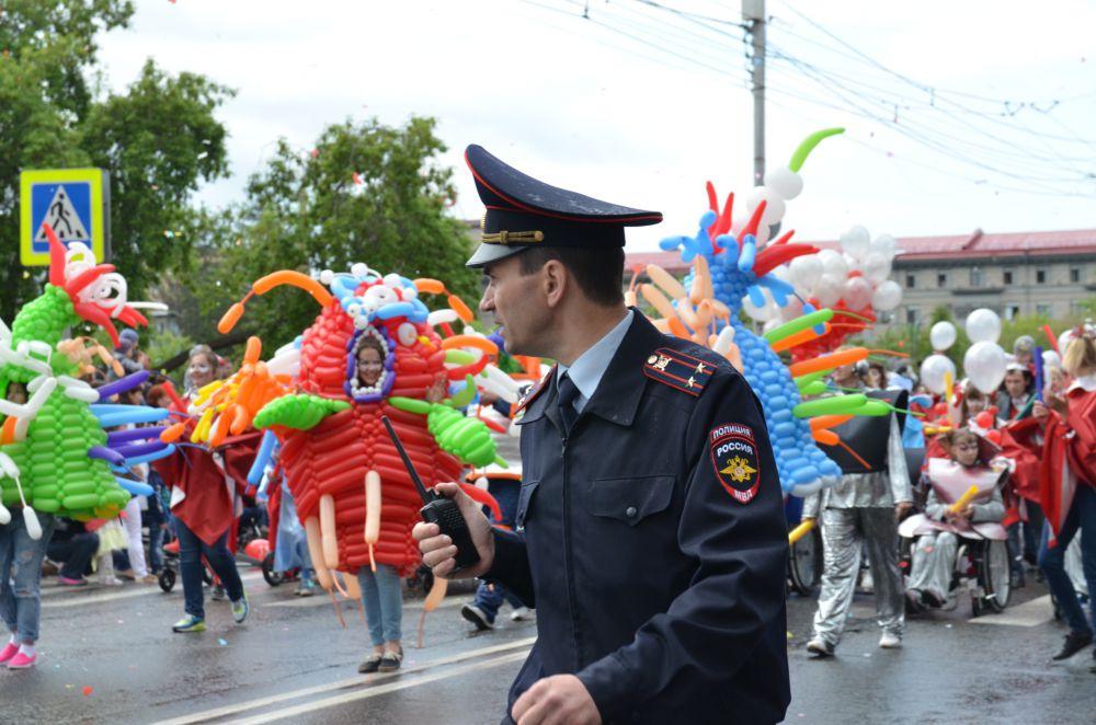 Порядок во время карнавала обеспечивает полиция