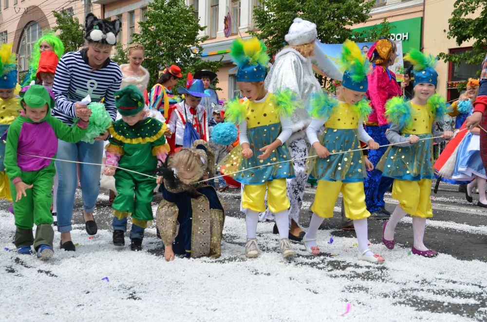 Первый снег коротким сибирским летом