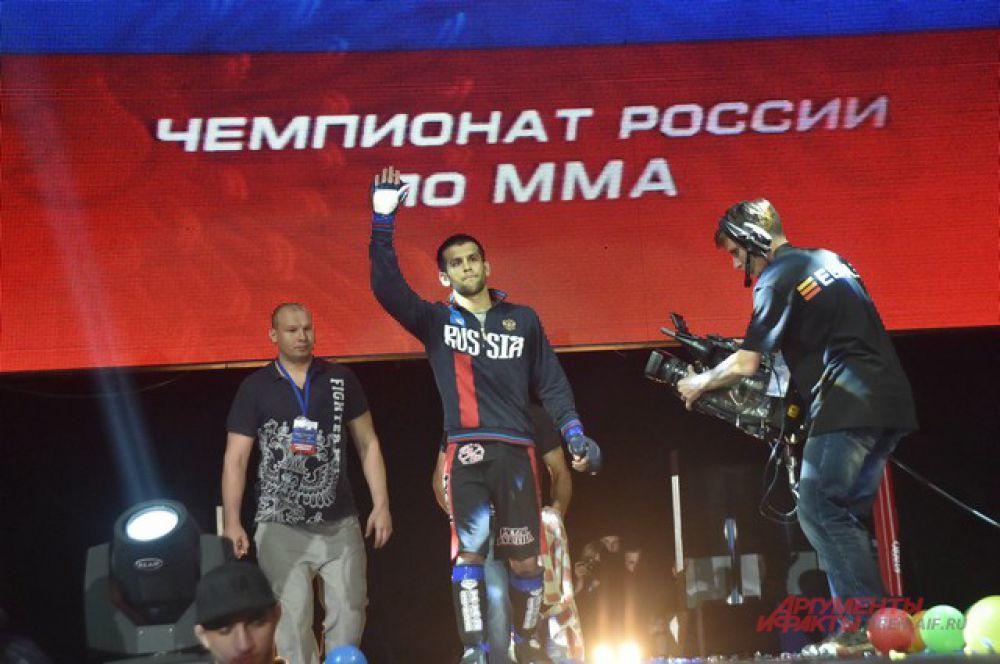 В Омске прошёл чемпионат России по смешанному единоборству.
