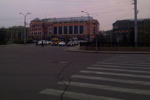 В Иркутске в День города