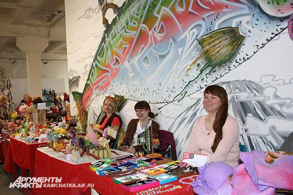 На выставке представлены лучшие работы камчатских мастеров.