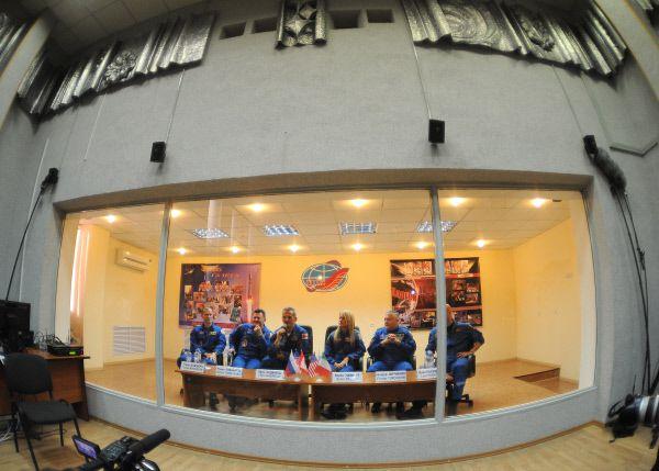 Конференц-зал на космодроме Байконур. 2012 год.