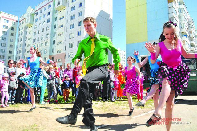 Компания «Наш Дом» организовала концерт и игровые мероприятия для маленьких омичей.