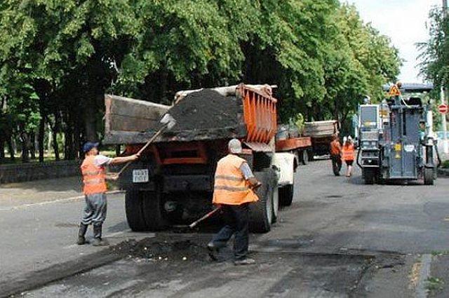 Половину дорог отремонтировали в Новосибирской области