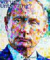 Портрет президента России Владимира Путина состоит почти из 700 микро-картин.