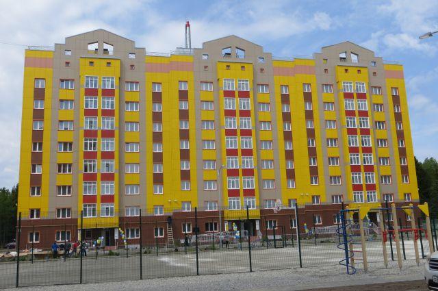 Арендный дом на улице Югорской.