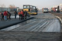 Ремонт дорог протекает быстрее, чем в прошлом году.