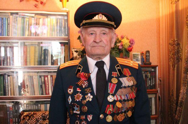 Ветеран ВОВ, полковник в отставке Павел ПОГОДАЕВ.