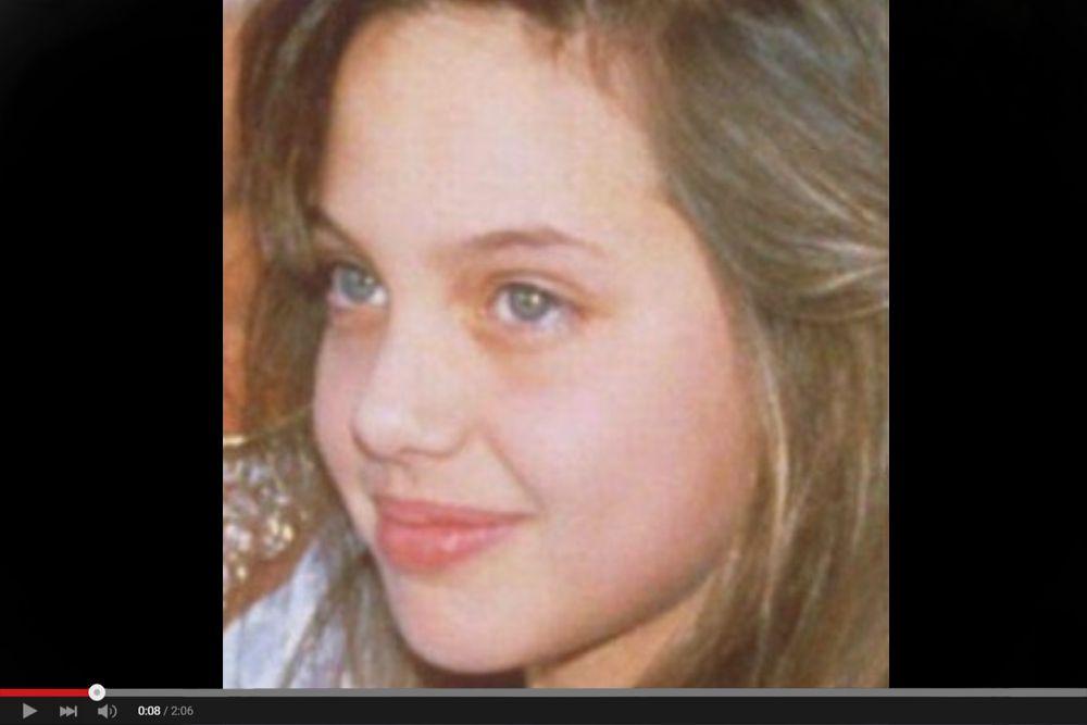 Когда Анджелине исполнилось 11 лет, семья вернулась в Лос-Анджелес, где Джоли два года проучилась в киношколе Ли Страсберга, а также в высшей школе Беверли-Хиллз. Анджелина оказалась далеко не единственной студенткой с актёрскими амбициями, однако всегда чувствовала себя аутсайдером из-за своего нестандартного внешнего вида, привычки одеваться в одежду из секонд-хенда и худобы. Её уверенность в себе пострадала ещё сильнее после того, как все попытки стать моделью окончились неудачно. Позже Джоли признавалась, что чувствовала себя сильно несчастной, считала, что она бесполезна.