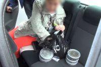 68-летнюю женщину задержали с поличным.