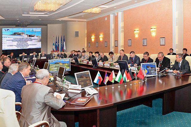 Совещание с экспертами ВАО АЭС на Балаковской атомной станции.