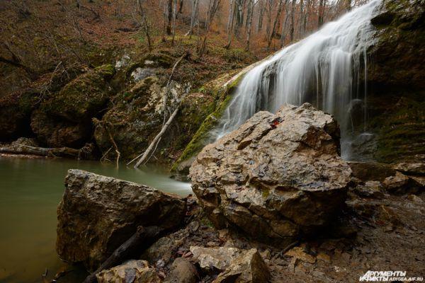 Руфабго. Водопад Шум.