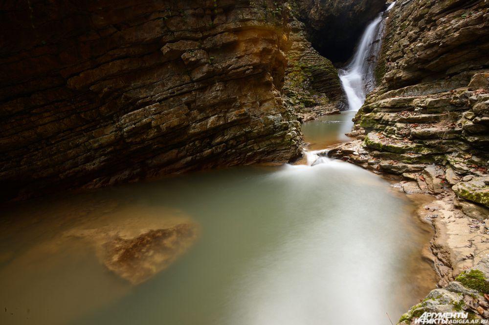 Водопад Сердце Руфабго.
