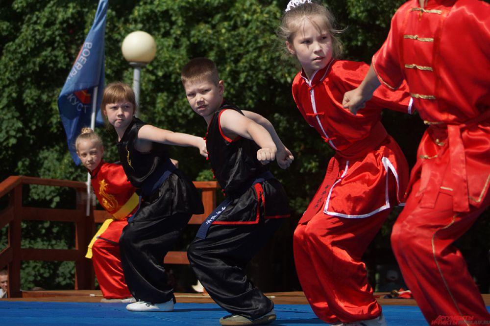 Марафон спорта прошел под патронажем пермского филиала Российского Союза Боевых искусств.