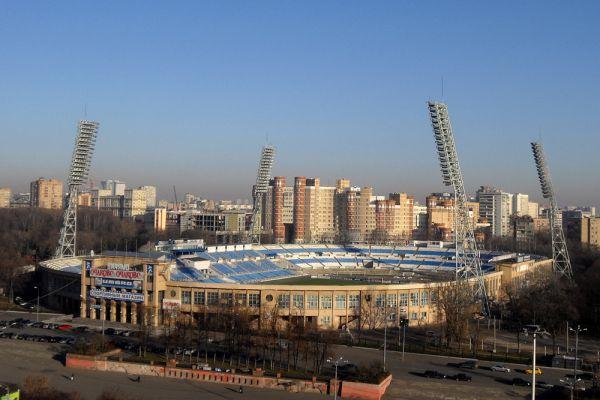 Стадион «Динамо» в 2008 году.