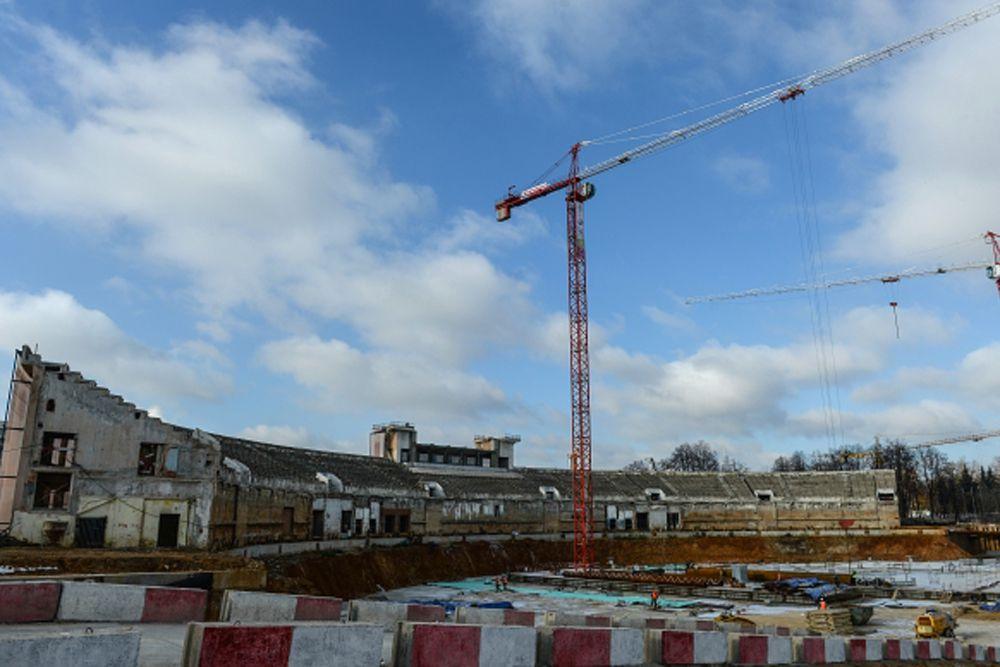Строительство многофункционального комплекса. 2014 год.