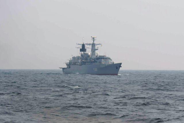 Боевые корабли НАТО.