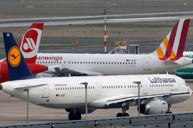 Lufthansa приостанавливает полеты втри российских аэропорта