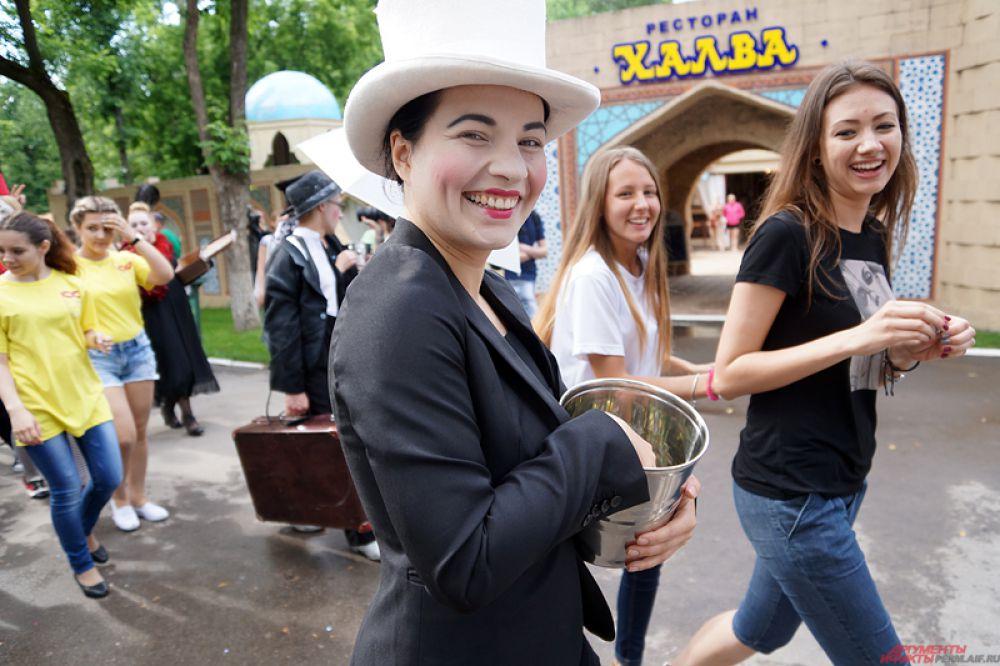 В этом году площадкой для сценического мастерства станет парк Горького.