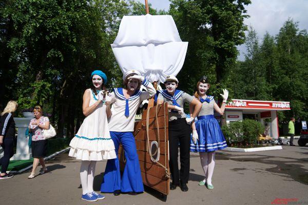 Фестиваль уличных театров продлится до 7 июня.