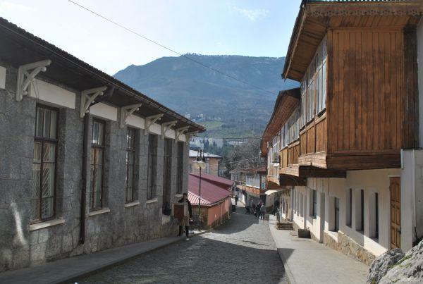 Улица Гурзуфа.