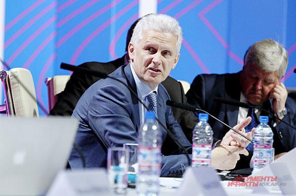 ... и помощник президента РФ Андрей Фурсенко.