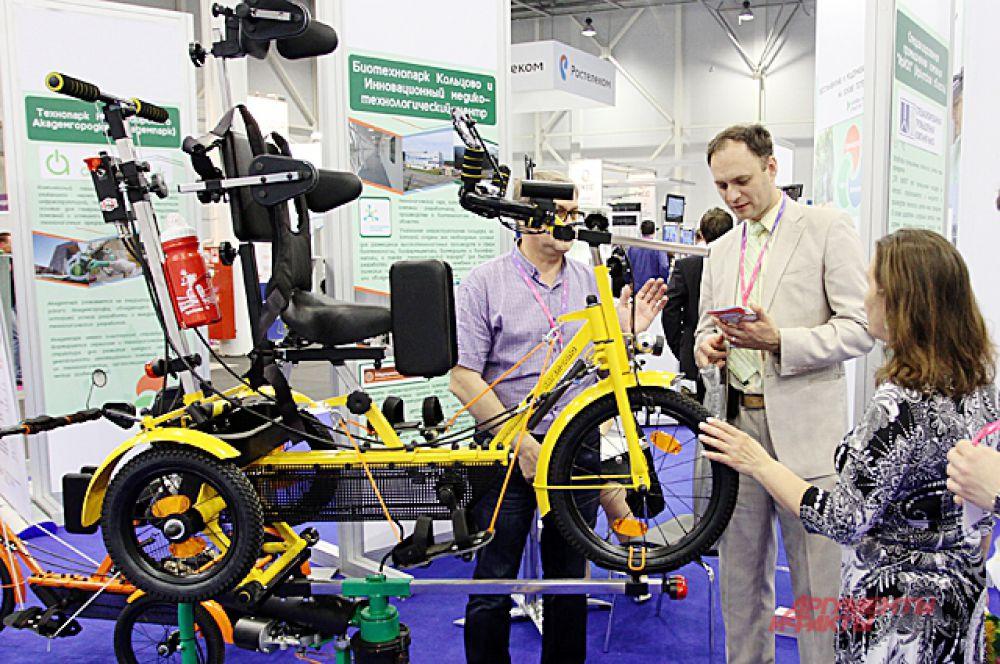 Примерно так выглядит велосипед будущего.