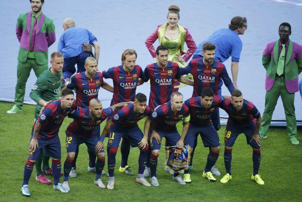 «Барселона» выставила на матч сильнейший состав.