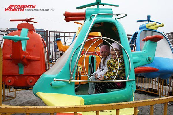 Можно полетать на вертолёте!