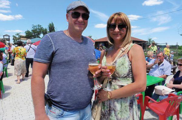 В рамках фестиваля прошла конкурсная дегустация вин.
